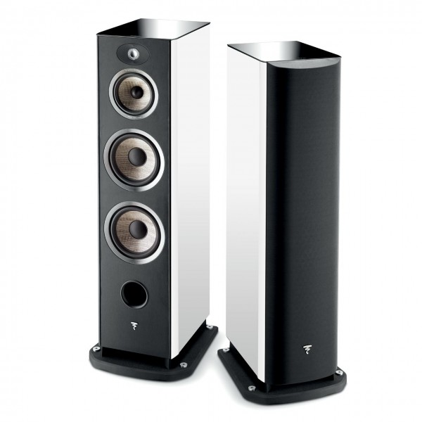 loa focal aria 926 black/white/noyer